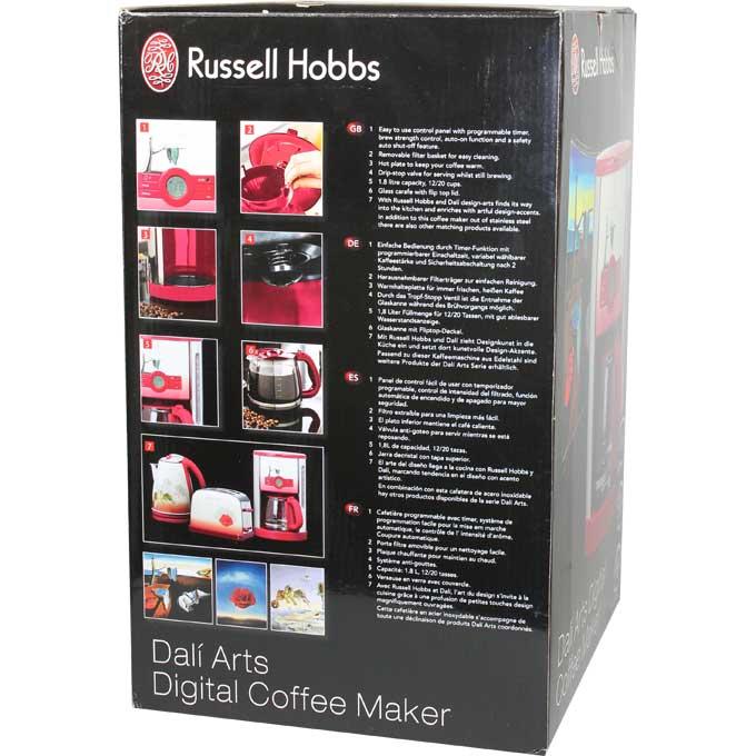 Kaffeemaschine Salvador Dali Arts mit Timer Display  ~ Kaffeemaschine Heißer Kaffee