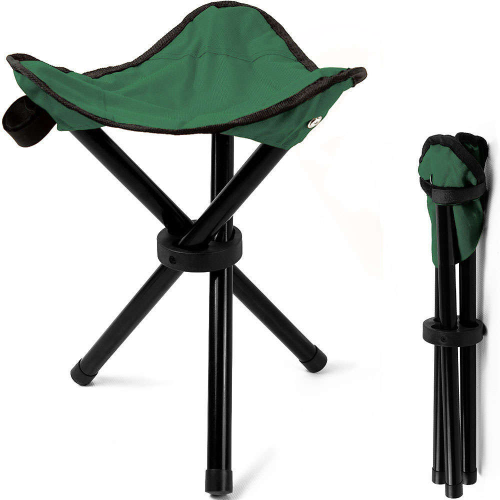 dreibein angel klappstuhl hocker camping faltstuhl fischerstuhl camping stuhl ebay. Black Bedroom Furniture Sets. Home Design Ideas